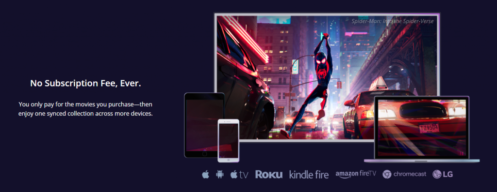 Movies Anywhere pricing