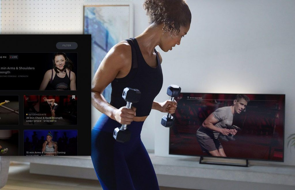 Peloton App on Apple TV