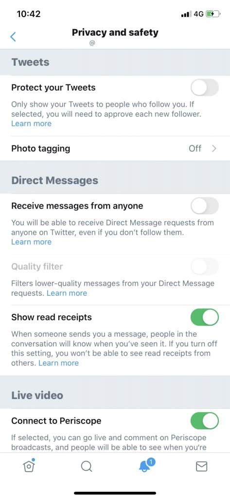 Protect your Tweet