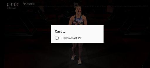 Select Chromecast TV