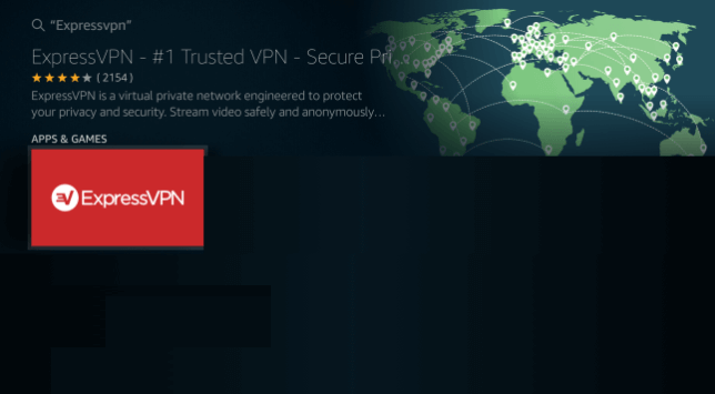 Select ExpressVPN icon