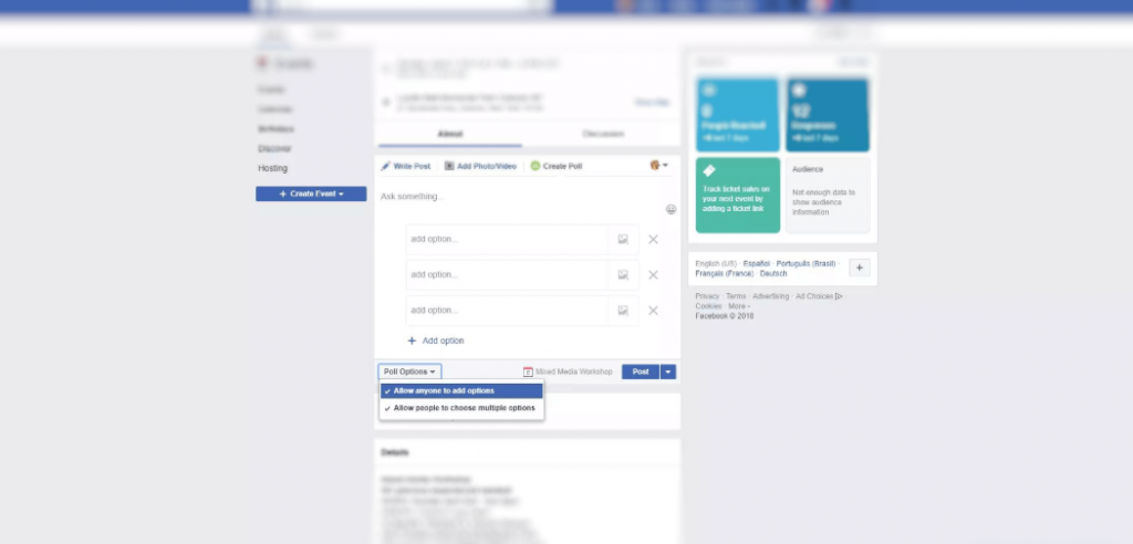 How to Create a Poll on Facebook