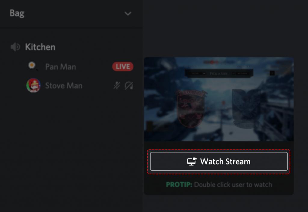 Select Watch Stream