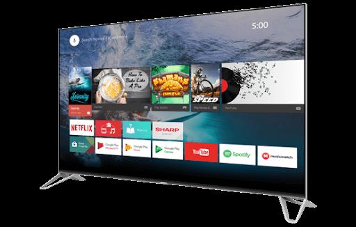 Sharp chromecast built in tv