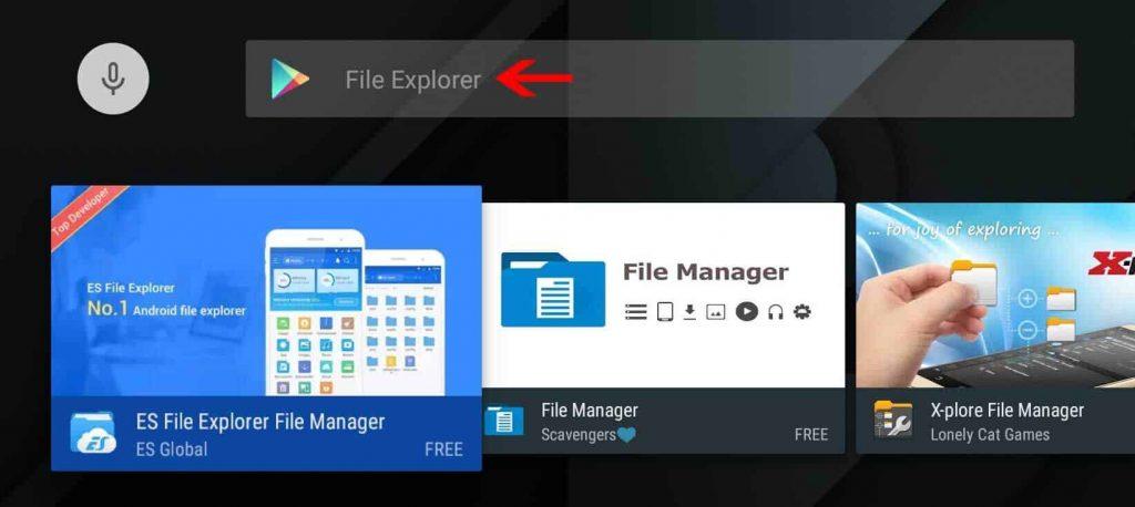 Install ES File Explore