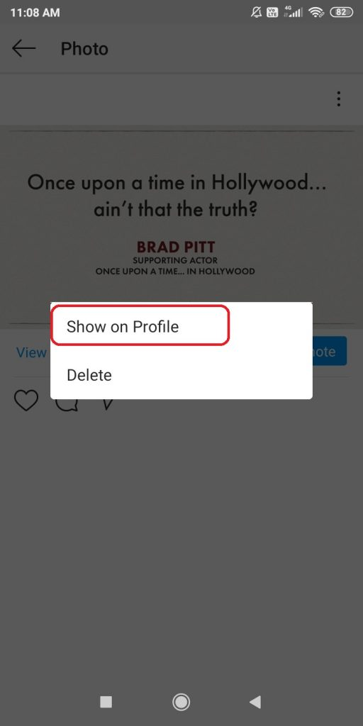 Unarchive Instagram Posts