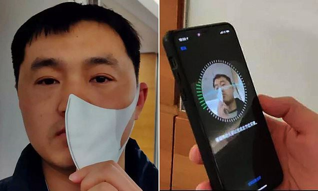 Unlock iphone with mask