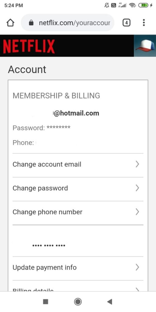 How to Update Netflix Account Information