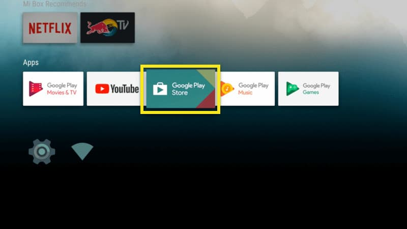Open Google Play Store