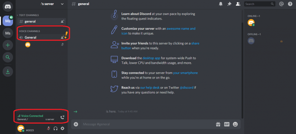 Voice Chat on Discord from PC