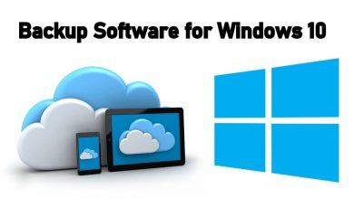 backup software for windows 10