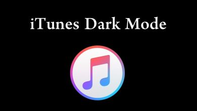 dark mode on itunes