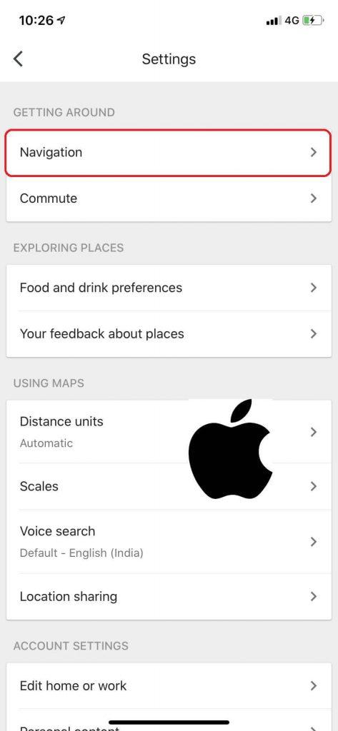 Enable Google Maps Dark Mode