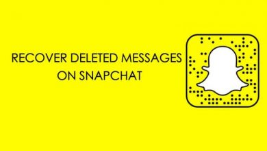 recover snapchat messages