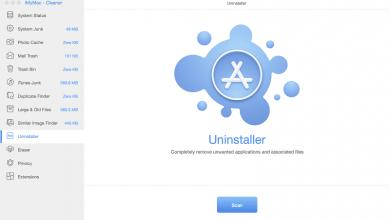 unintasller for mac