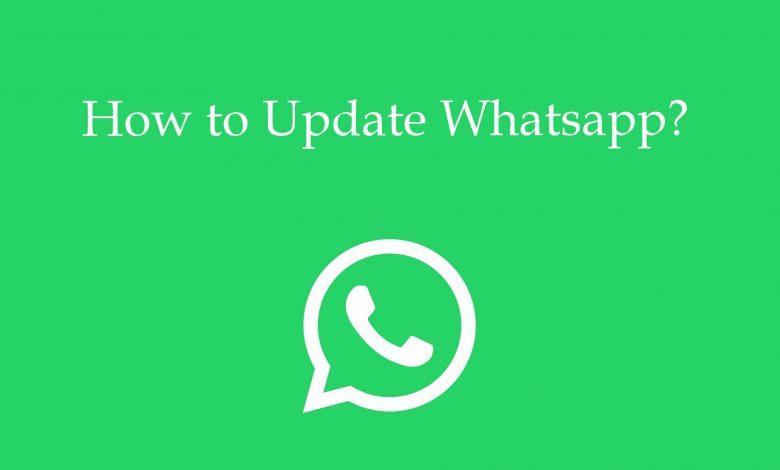 update whatsapp