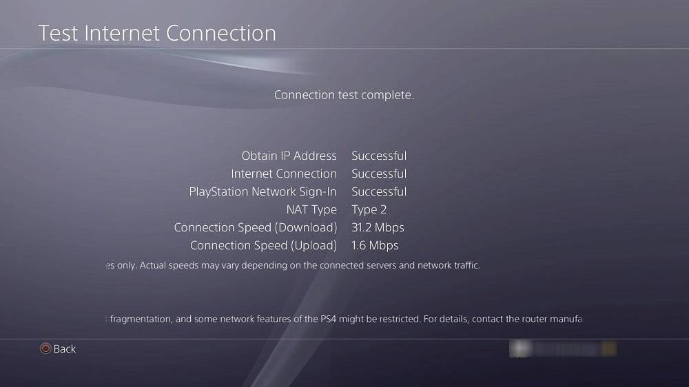 Test Internet Connection on router