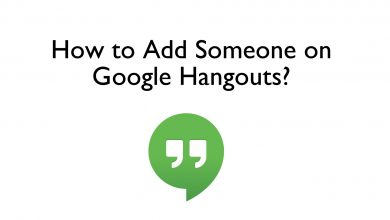 Add Someone on Hangouts