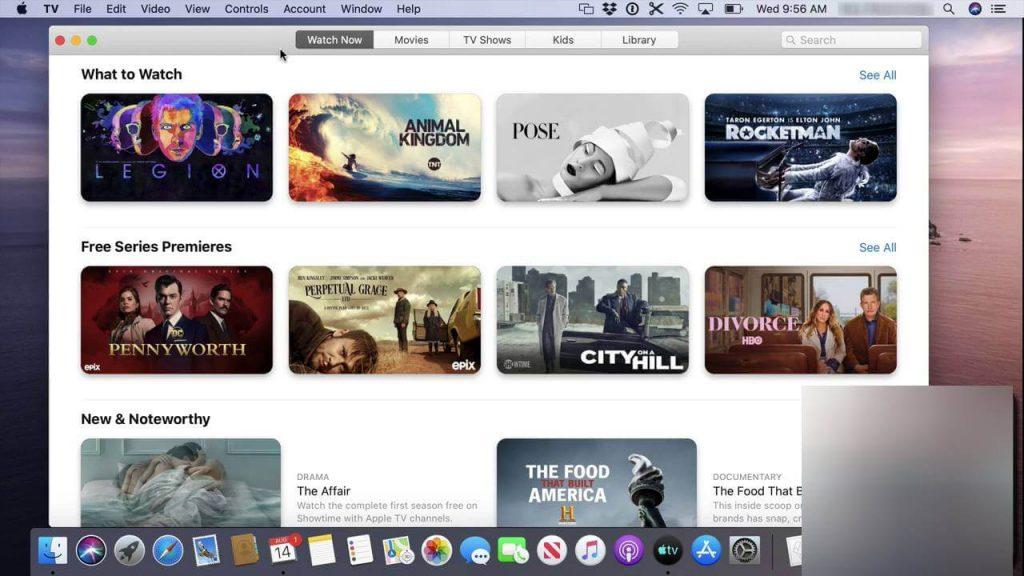 Apple TV on Mac