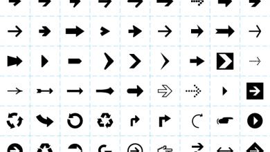 Arrow Keyboard Symbol