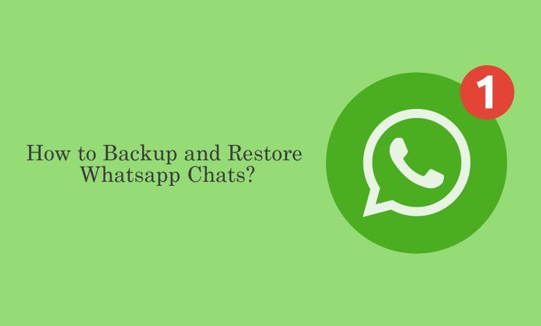 Backup and Restore WhatsApp