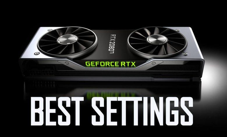Best NVIDIA Control Panel Settings
