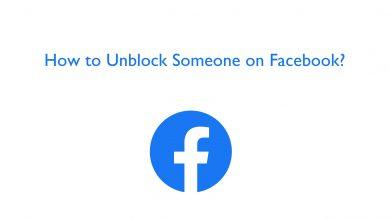 unblock someone on facebook