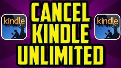Cancel Kindle Unlimited