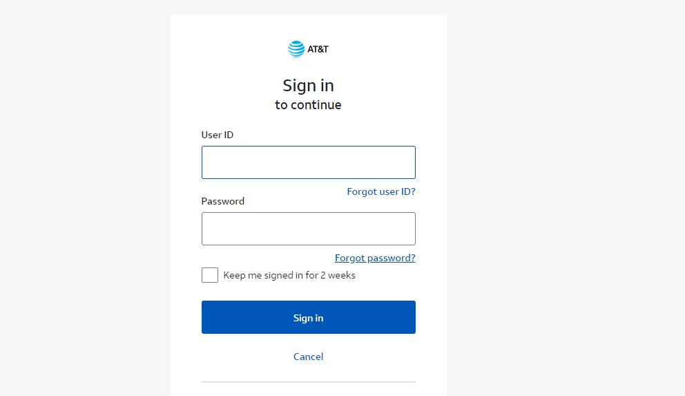 Click Forgot Password-SBCGlobal.net