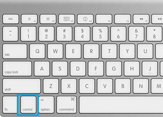Control Key on Mac