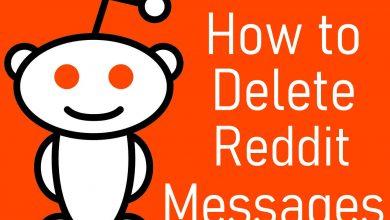 Delete Reddit Messages