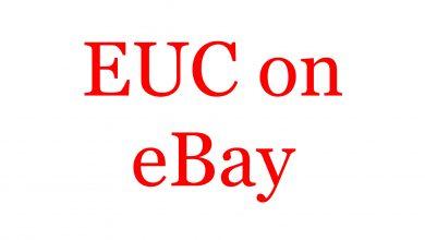 EUC on eBay