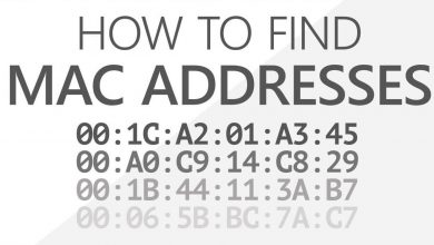 Find MAC Address on Mac