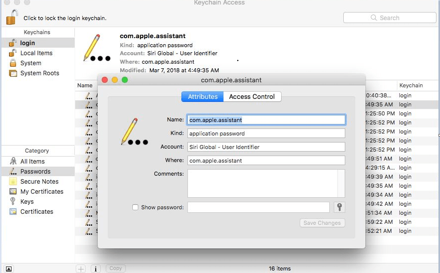 Find WiFi Password on Mac