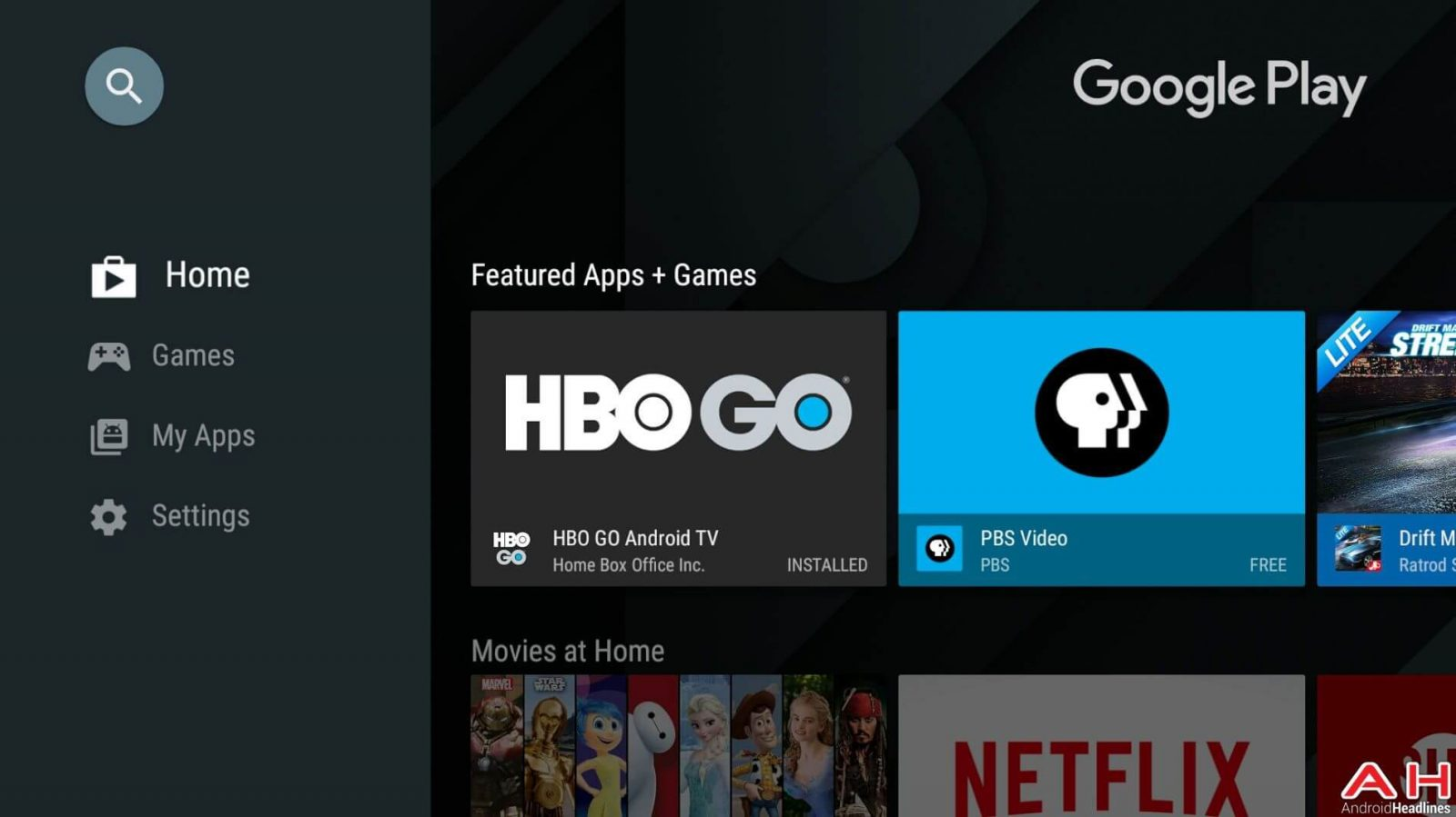 HBO GO on Sony Smart TV