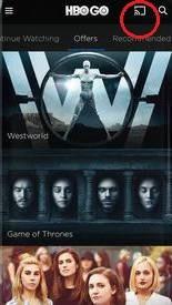 HBO GO on Vizio Smart TV