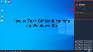 How to Turn Off Notifications on Windows 10