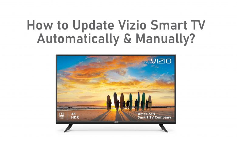 How to Update Vizio Smart TV