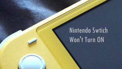 Nintendo Switch Won't Turn On