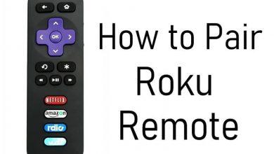 Pair Roku Remote