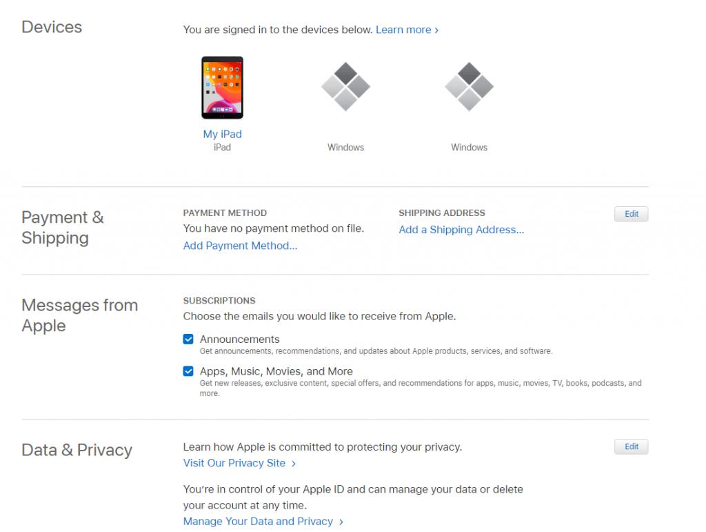 Remove iCloud Devices