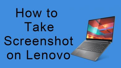 Take Screenshot on Lenovo