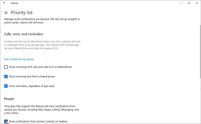 Turn Off Notifications on Windows 10