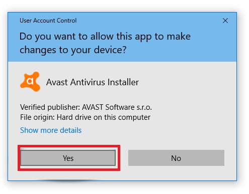 Delete Avast Antivirus