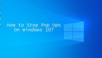 How to Stop Pop Ups On Windows 10