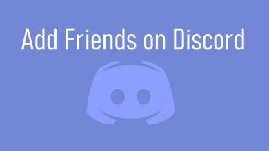 Add Friends on Discord