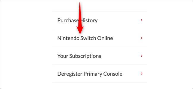 Click Nintendo Switch Online