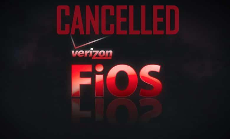 Cancel Verizon Fios