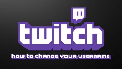 Change Twitch Username