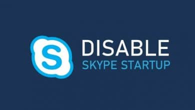 Disable Skype on Startup